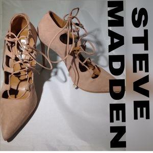 Steve Madden Tie up heels